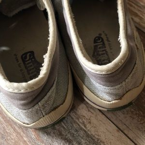 Simple Shoes - Simple brand light gray sneakers. Size 10.